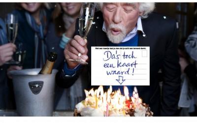 Stichting wenskaart - Adv jarig